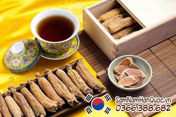Lợi ích từ việc uống trà sâm Hàn Quốc mỗi ngày mà bạn không tưởng