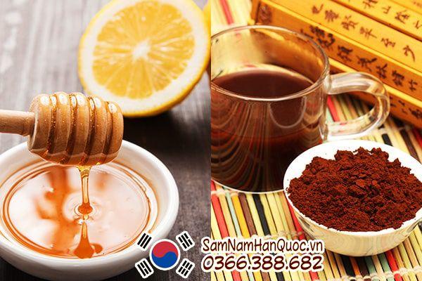 công dụng của trà hồng sâm hàn quốc