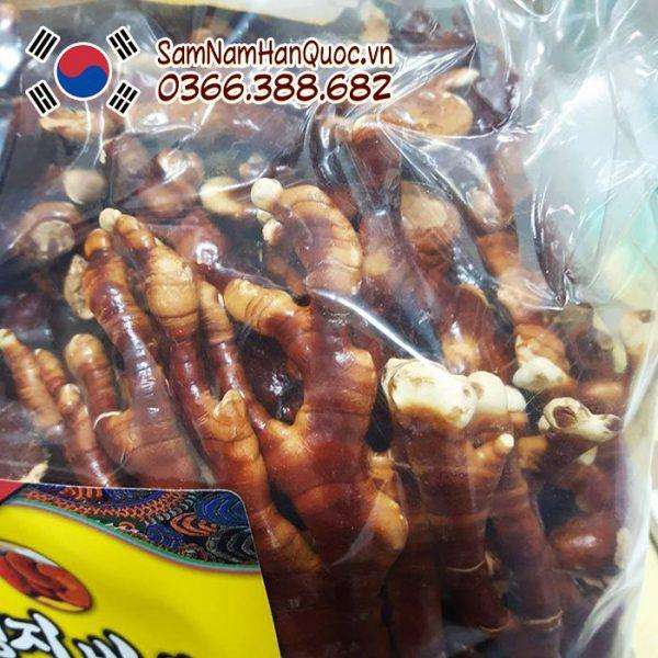 Nấm linh chi sừng hươu Hàn Quốc hộp 500g cao cấp chính hãng