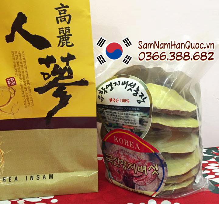 tác dụng của Nấm linh chi vàng Hàn Quốc Uhak đối với sức khỏe