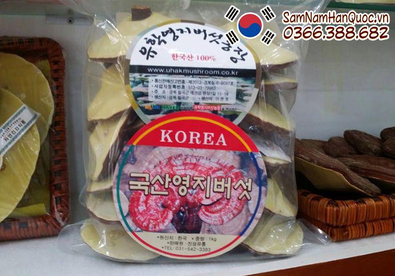 Nấm linh chi vàng Hàn Quốc Uhak