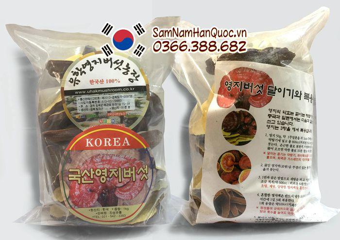 mua Nấm linh chi vàng Hàn Quốc Uhak chính hãng giá rẻ