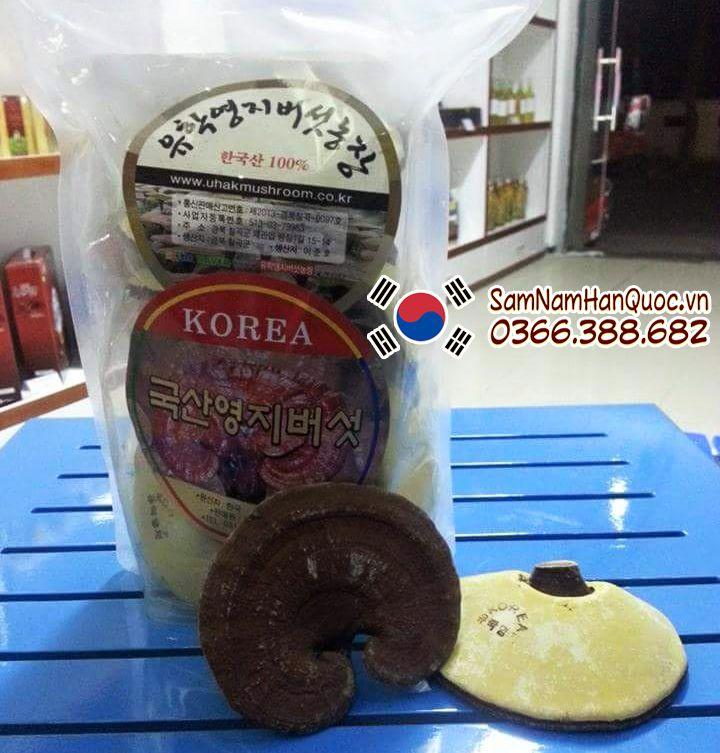 bán Nấm linh chi vàng Hàn Quốc Uhak chính hãng