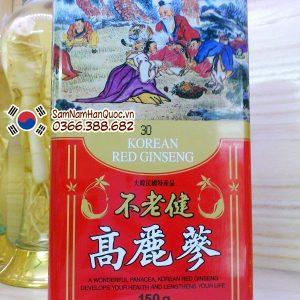 Nhân sâm khô Hàn Quốc 150g kéo dài tuổi thọ, đầu óc minh mẫn