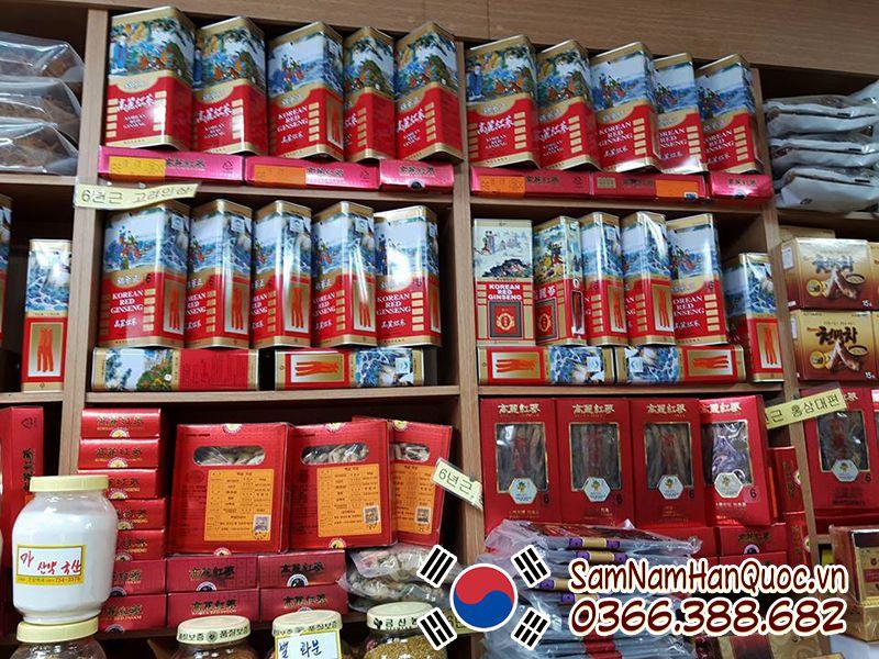 Mua Nhân sâm khô Hàn Quốc 37.5g chất lượng