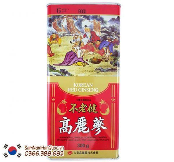 Hồng sâm khô Hàn Quốc 150g Daedong giá rẻ chính hãng