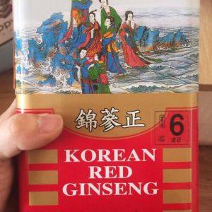 Nhân sâm khô hộp thiếc 150g Pocheoninsam Hàn Quốc giá rẻ