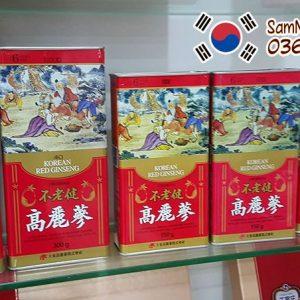 Hồng sâm khô Hàn Quốc 75g 6 năm tuổi chính hãng giá rẻ