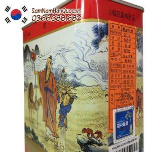 Nhân sâm khô Hàn Quốc 600g giá rẻ chính hãng nhập khẩu