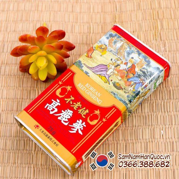 Nhân sâm khô Hàn Quốc 75g - Hồng sâm khô chính hãng Korea