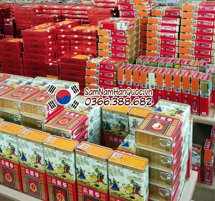 Nhân sâm khô Hàn Quốc 75g