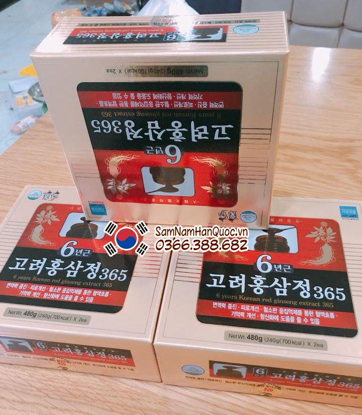 Trị bệnh từ hồng sâm Hàn Quốc