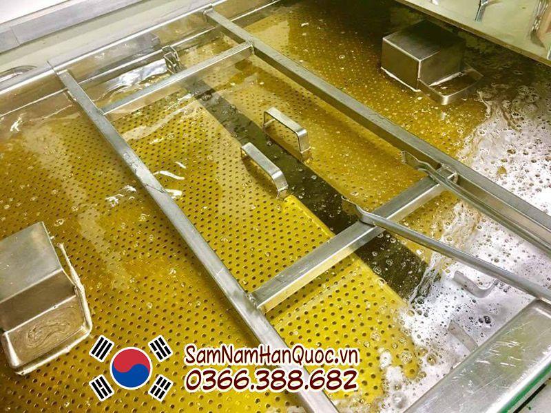 Hồng sâm lát tẩm mật ong 10 củ Daedong