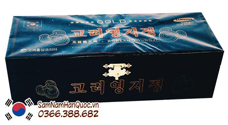 mua Cao linh chi hộp đen Hàn Quốc giá rẻ chính hãng