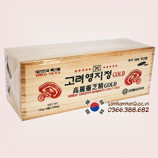 Cao linh chi hộp trắng 3x120g điều hòa huyết áp hiệu quả