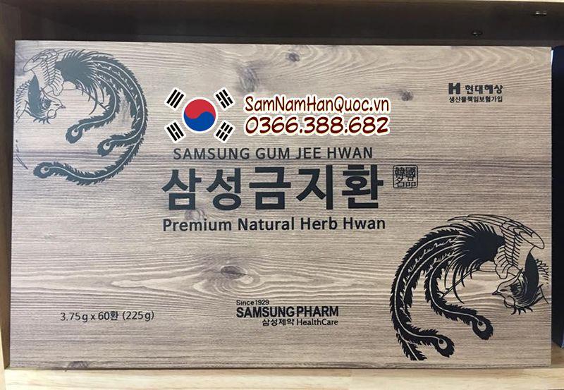 mua An cung ngưu hoàng hoàn hộp gỗ Hàn Quốc chính hãng giá rẻ