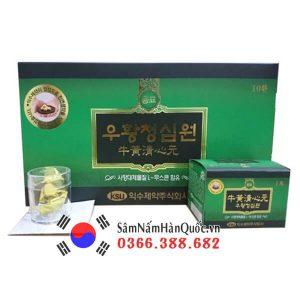 An cung ngưu hoàng hoàn IKSU hộp xanh Hàn Quốc giá rẻ