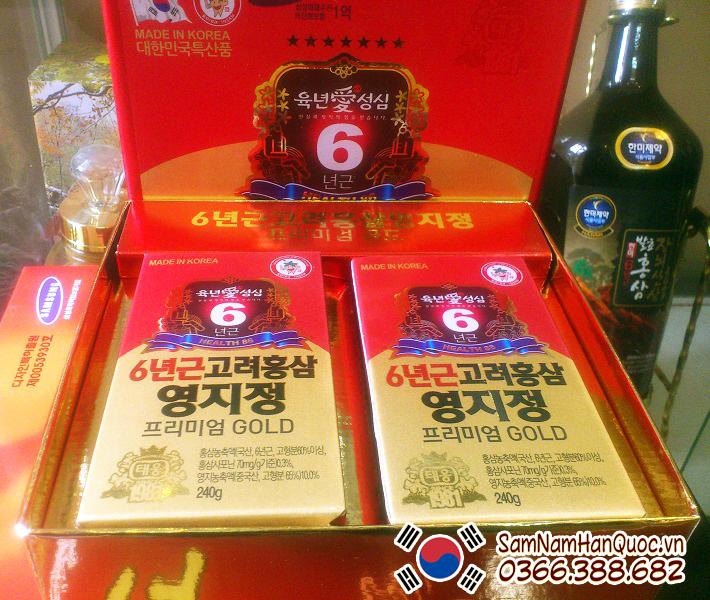 chỗ bán Cao hồng sâm linh chi Hàn Quốc uy tín chính hãng
