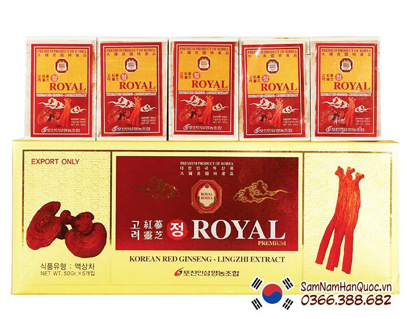 Mua Cao hồng sâm linh chi Royal Korea chính hãng giá rẻ