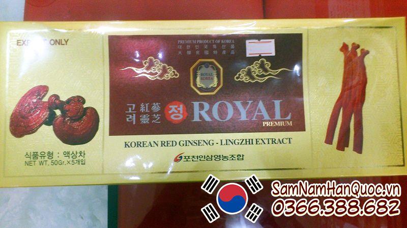 Giá Cao hồng sâm linh chi Royal Korea bao nhiêu