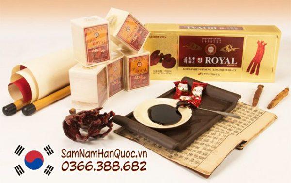 Cao hồng sâm linh chi Royal Korea tốt cho người cao tuổi