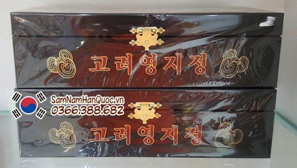Cao linh chi hộp đen Hàn Quốc hộp 3 lọ 120g chính hãng