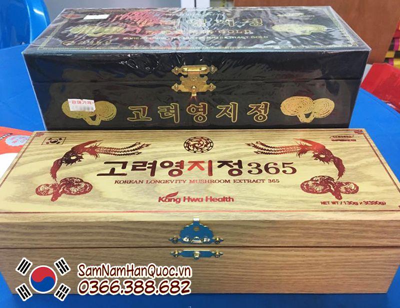 cách sử dụng Cao linh chi hộp đen Hàn Quốc
