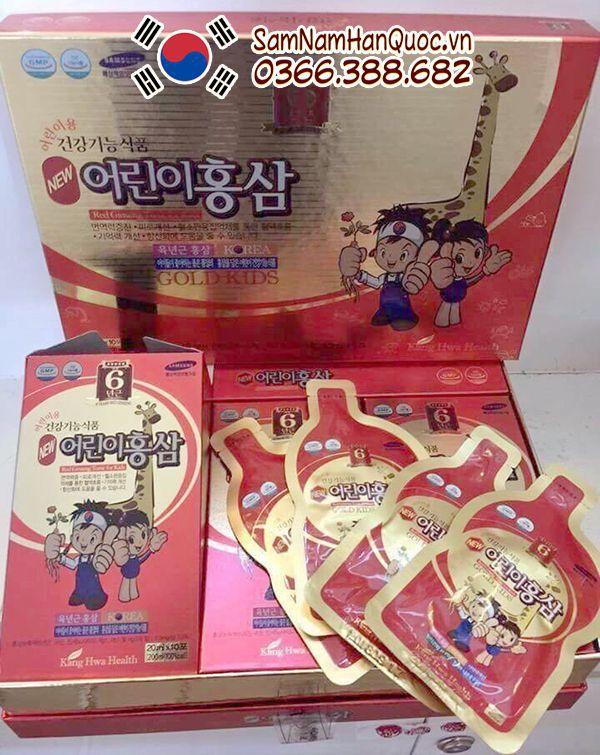 Hồng sâm trẻ em Hàn Quốc