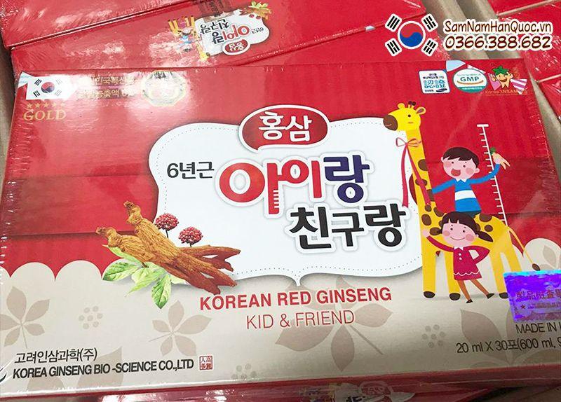 cách dùng Hồng sâm baby hươu cao cổ Hàn Quốc