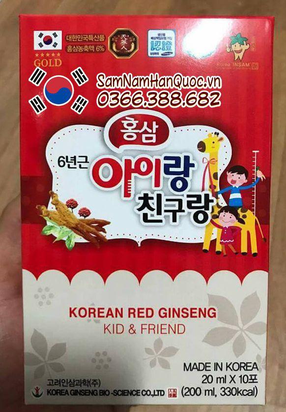 Hồng sâm baby hươu cao cổ Hàn Quốc