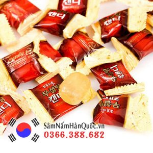 Kẹo Hồng Sâm Không Đường 500g Korean Red Ginseng Candy