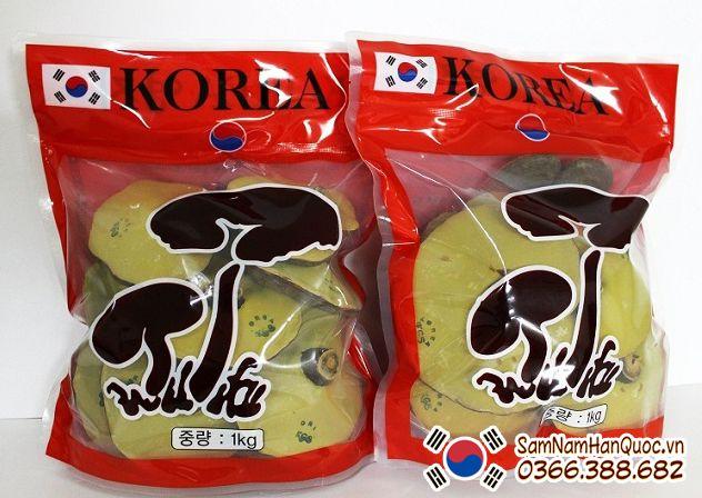 Nấm linh chi Hàn Quốc giá bao nhiêu 1 kg