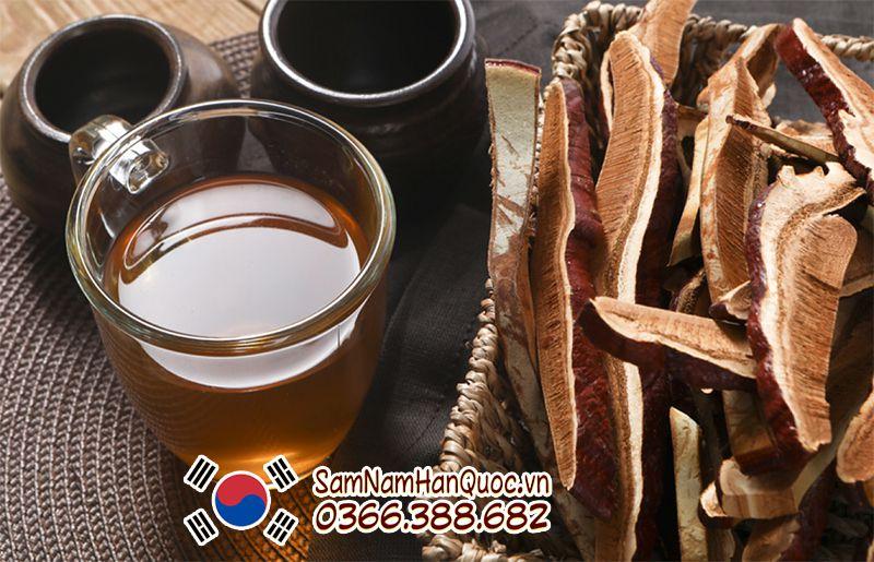 Tỉ lệ nấu nước nấm linh chi là 10g - 15g cho 1 lít nước sạch