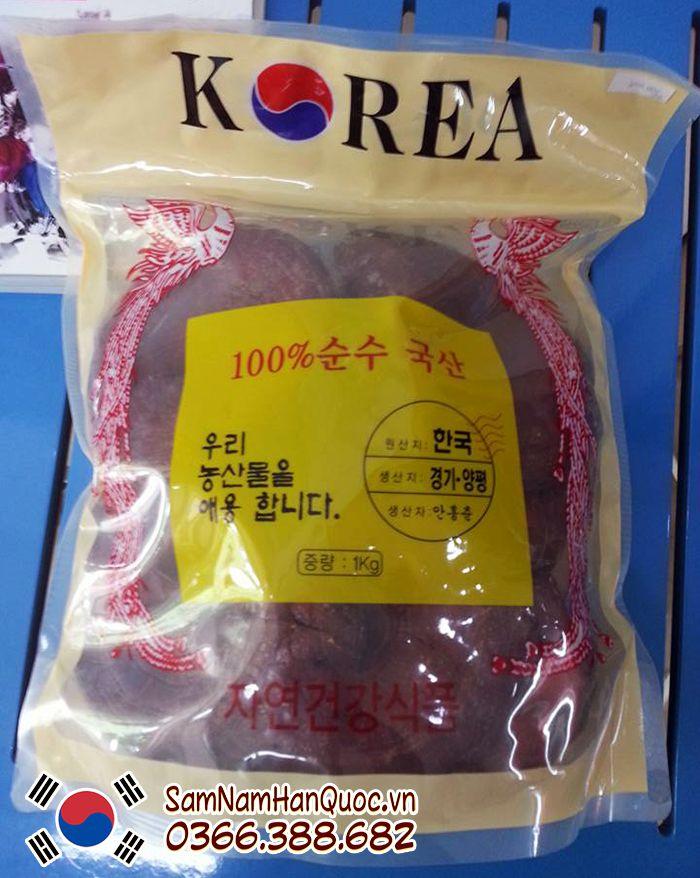 công dụng Nấm linh chi đỏ Hàn Quốc túi trắng là gì