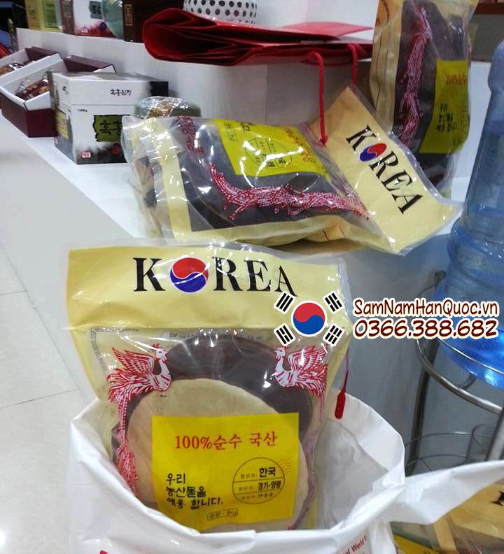 cách chế biến Nấm linh chi đỏ Hàn Quốc túi trắng