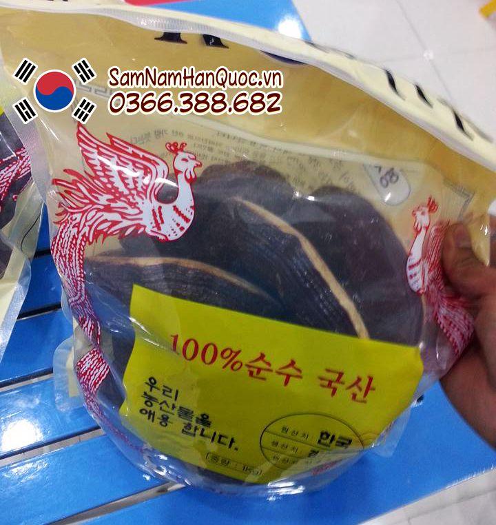 Nấm linh chi đỏ Hàn Quốc túi trắng