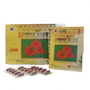 Viên linh chi Hàn Quốc KGS 830mg x 120 viên hộp giấy