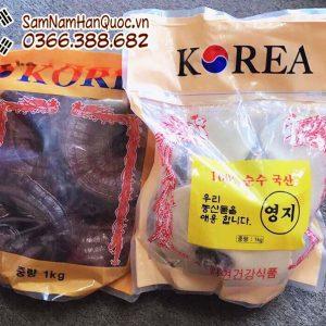 Nấm linh chi đỏ Hàn Quốc túi vàng điều hòa ổn định huyết áp