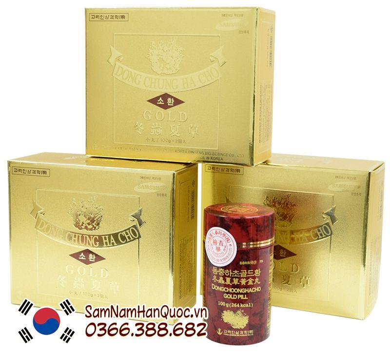 Viên Đông trùng hạ thảo Gold Hàn Quốc