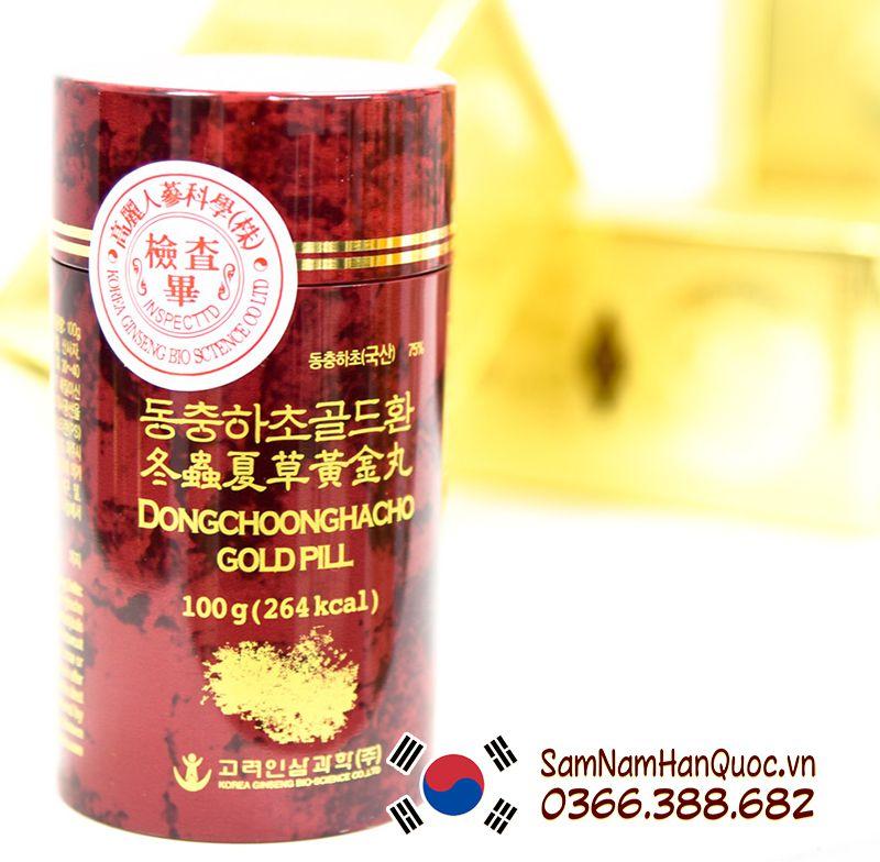 Viên Đông trùng hạ thảo Gold Hàn Quốc ình ảnh 2