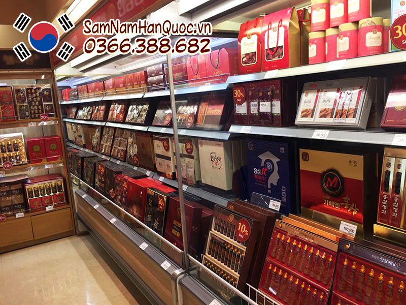 Giới thiệu cửa hàng Sâm Nấm Hàn Quốc