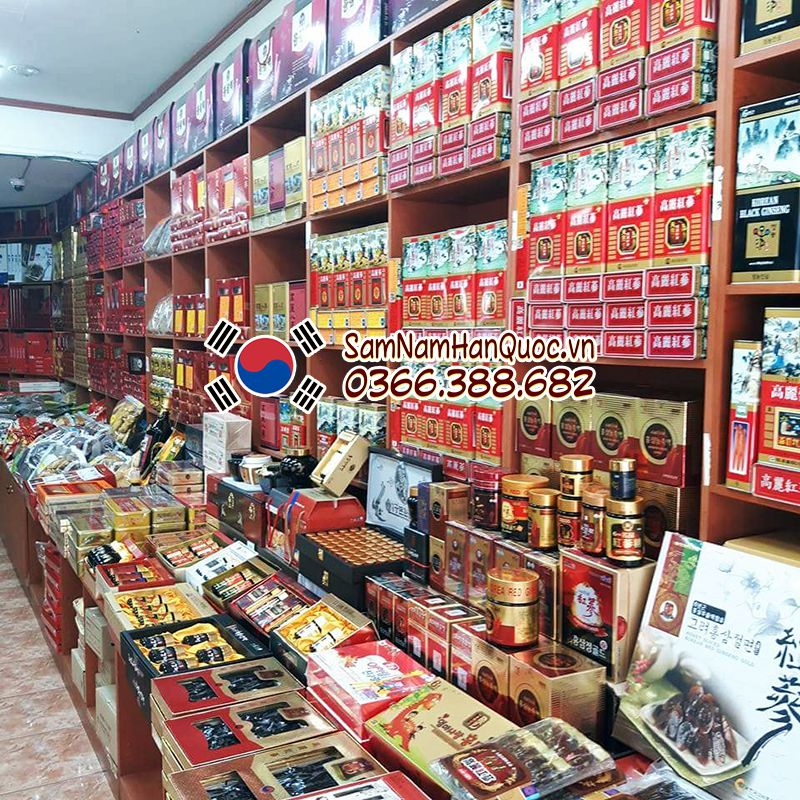 Mua nhân sâm Hàn Quốc tại cửa hàng Sâm Nấm Hàn Quốc