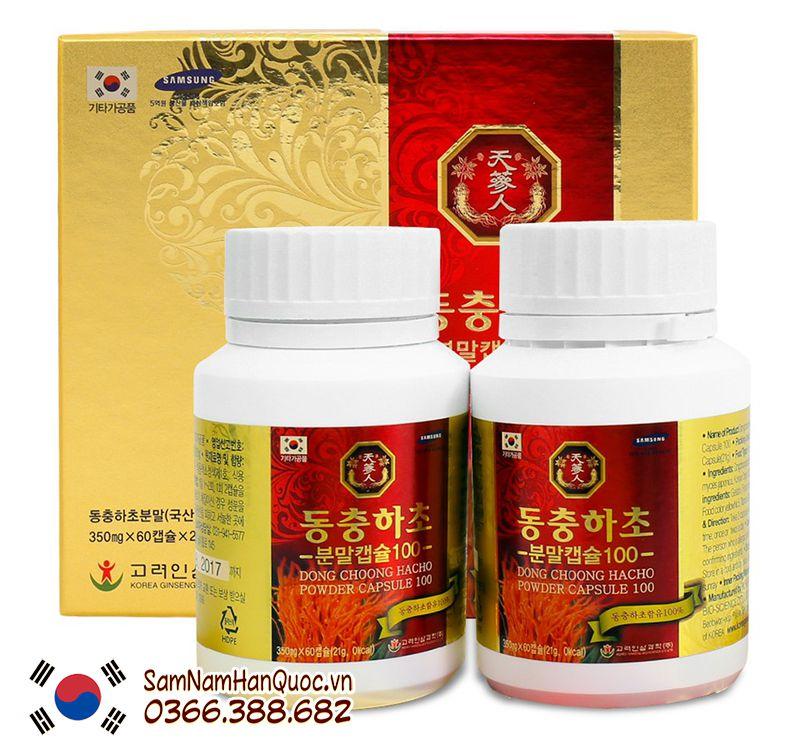 mua Viên đông trùng hạ thảo Bio Apgold Hàn Quốc