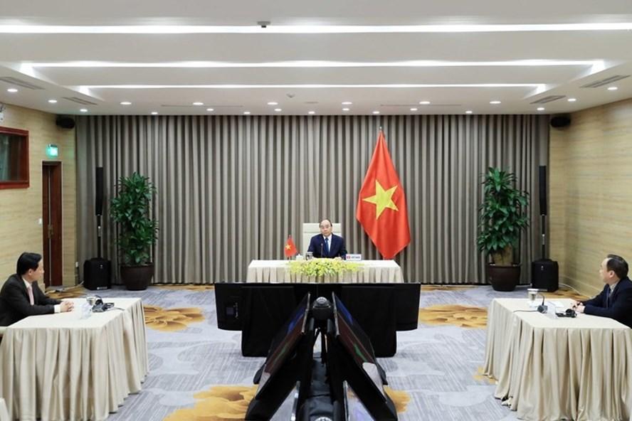 Thủ tướng Nguyễn Xuân Phúc trong bài phát biểu tại WHO