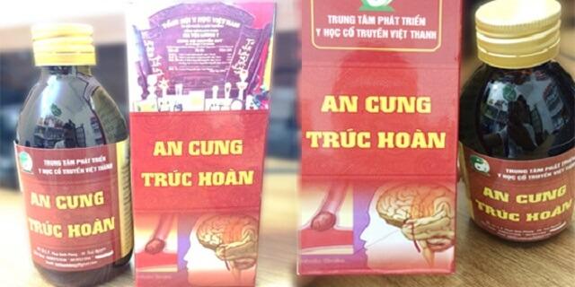 Thành phần có trong An Cung Trúc Hoàn 100% có tại Việt Nam