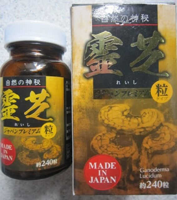 Tác dụng nấm linh chi Nhật Bản giống nhưng kém hiệu quả hơn Hàn Quốc