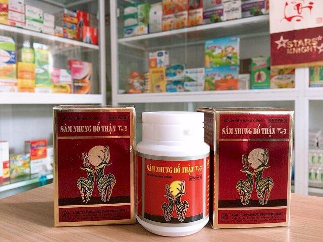 Reviews Sâm Nhung Bổ Thận TW3 made in Vietnam