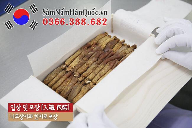 Nhân sâm khô Hàn Quốc 6 năm tuổi
