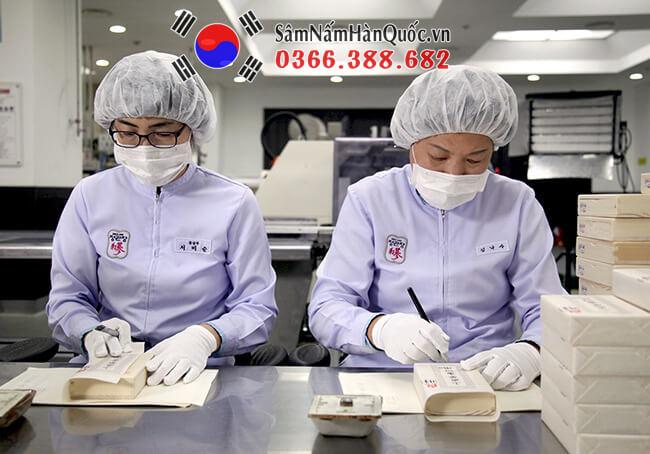 Sâm Nấm Hàn Quốc là cửa hàng bán Sâm khô Hàn Quốc uy tín nhất VN