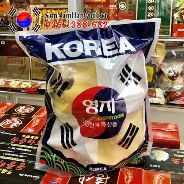 Giá nấm linh chi đỏ Hàn Quốc tại Việt Nam